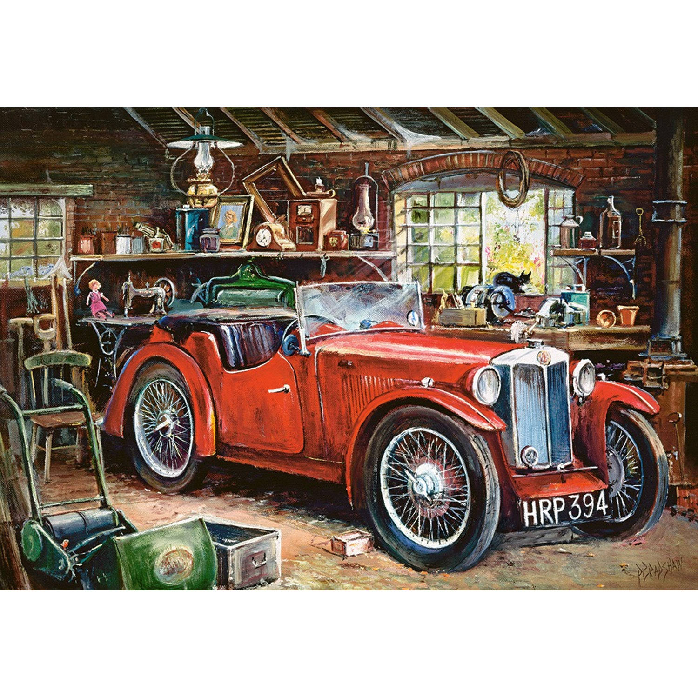 Korting Castorland Legpuzzel Vintage Garage 1000 Stukjes