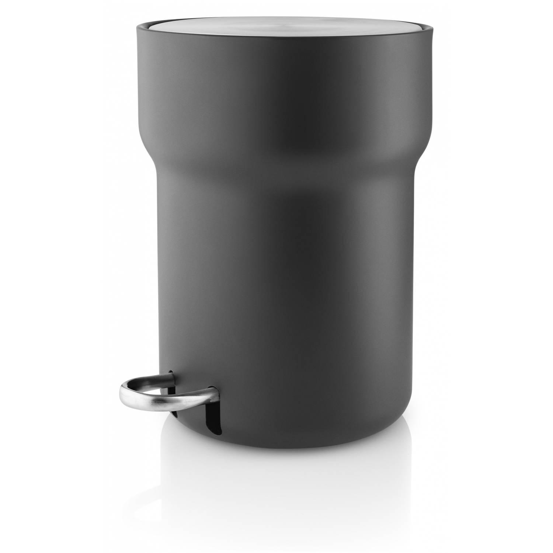 Korting Eva Solo Pedaalemmer 26 X 29 Cm 5 Liter Staal Zwart