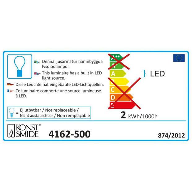 Konstsmide LED lantaarnsnoer 4162 - multicolor